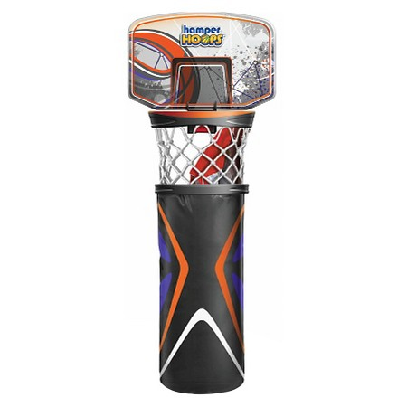 Hamper Hoops All-Star Behind the Door Basketball Hoop and Hamper Review.