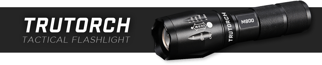 Trutorch m800 flashlight