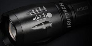 Trutorch tactical flashlight