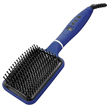 heated paddle brush