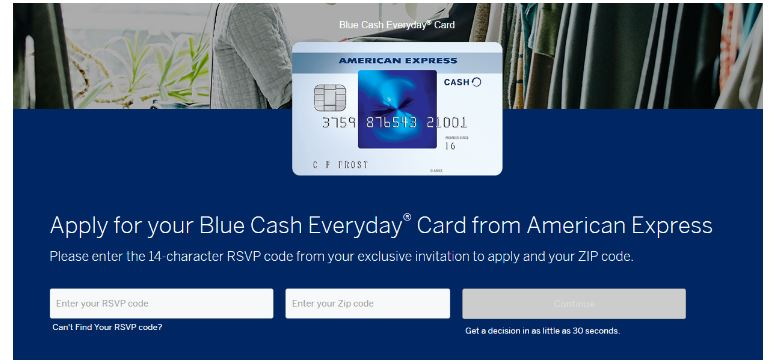 blue cash card